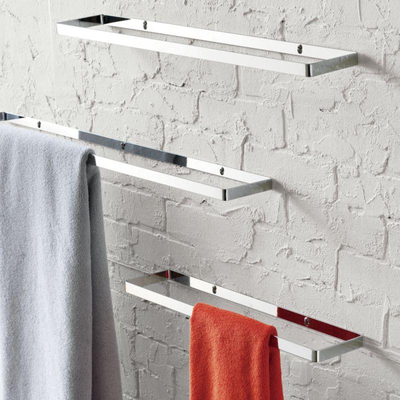 three stainless steel holders