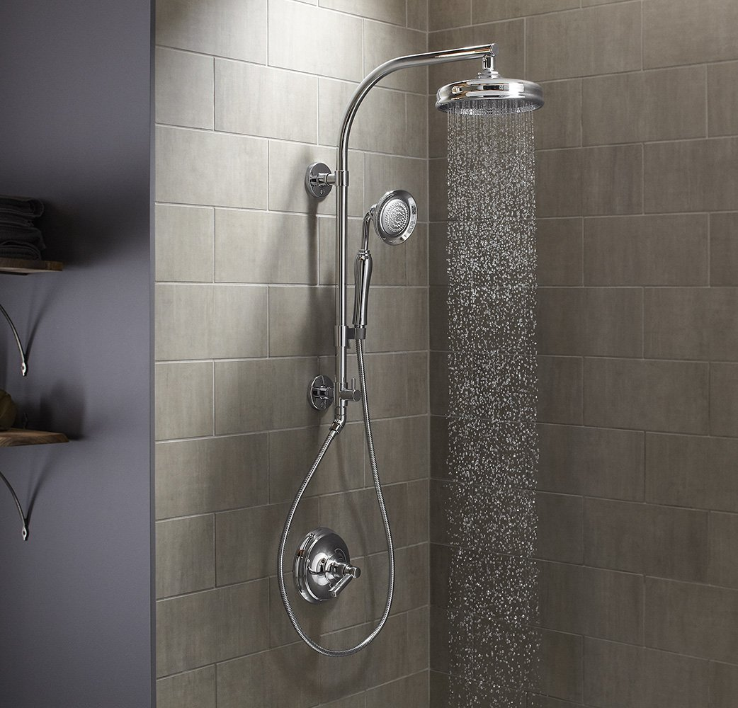 rain shower head reviews  ceiling waterfall systems