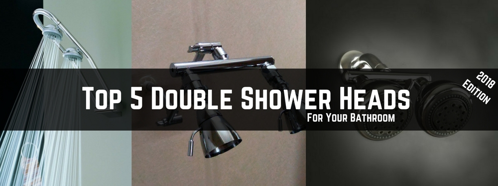 the best double shower heads